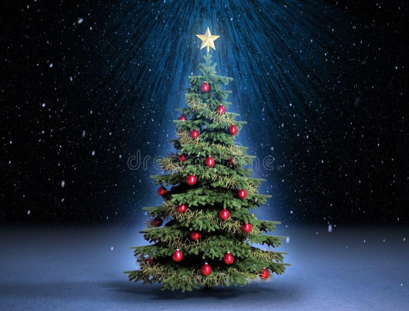 Christmass Tree Stock Image