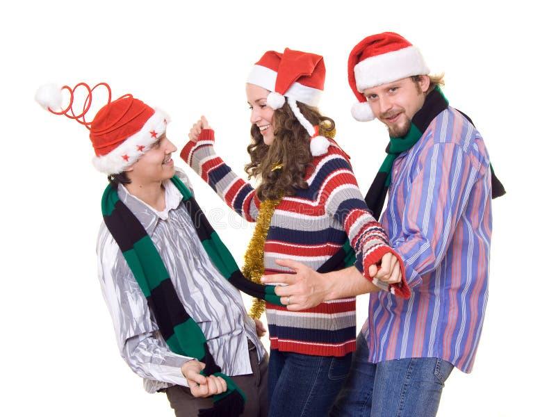 christmass zabawa fotografia stock