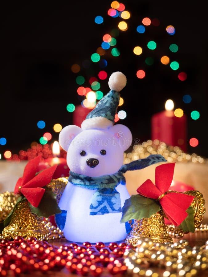 Christmast-Dekorationszusammensetzung stockfoto