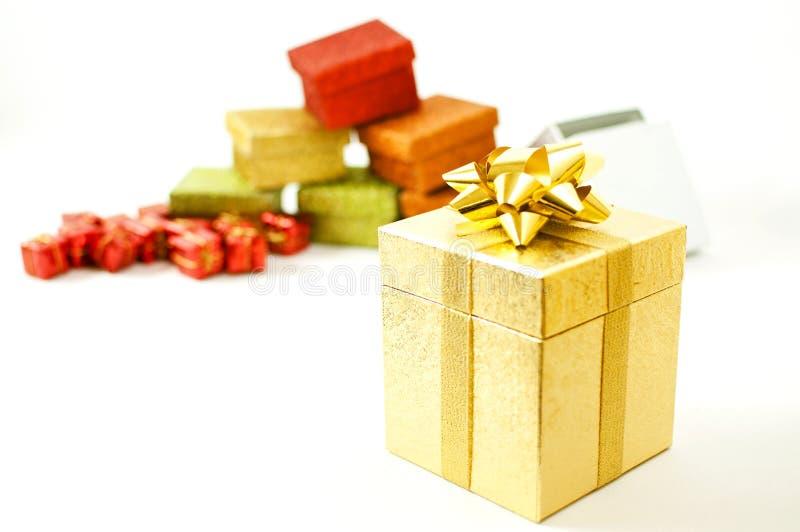 Christmast Geschenke lizenzfreies stockfoto