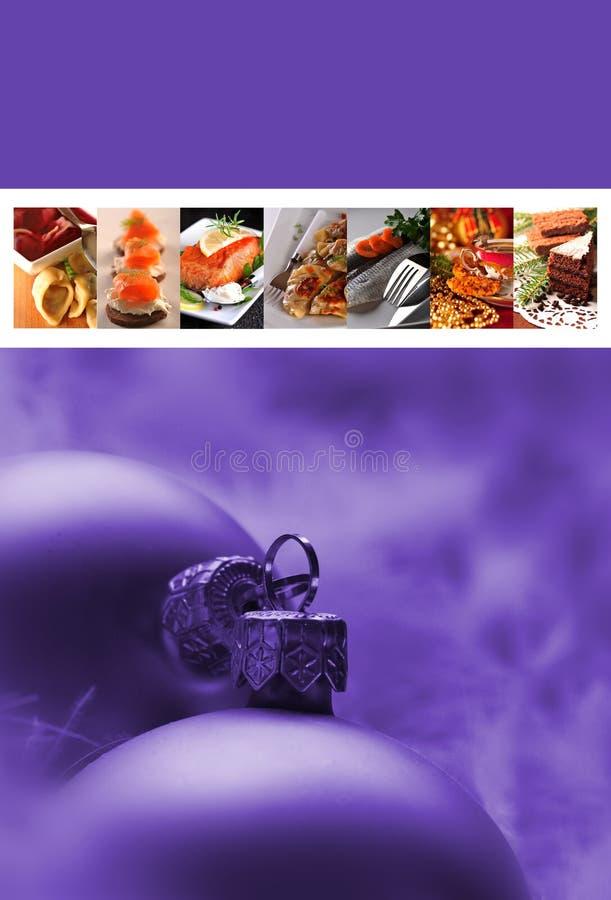 Download Christmast menu stock illustration. Illustration of card - 27630126