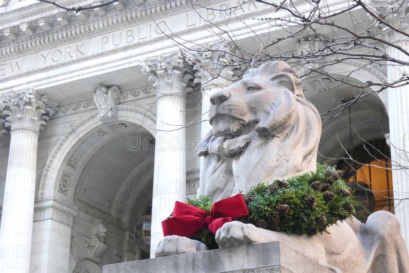 Christmastime在纽约 免版税库存图片