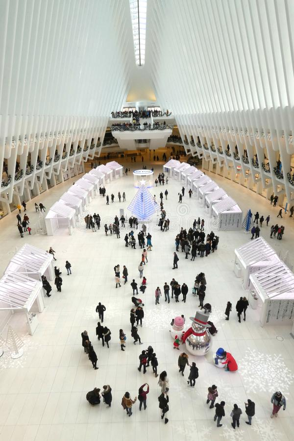 Christmastime在纽约 免版税库存照片