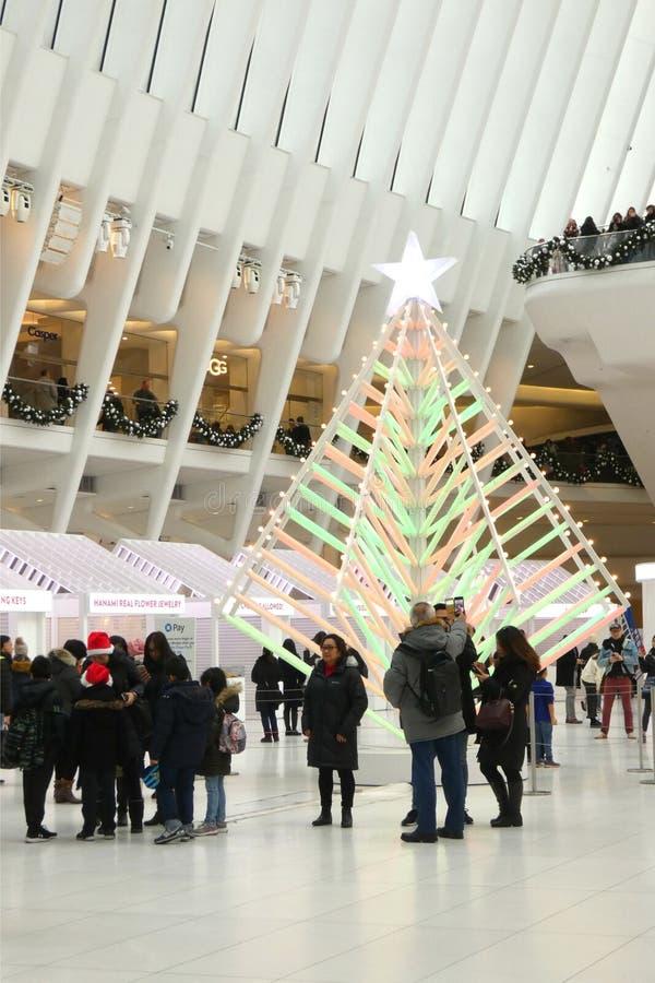 Christmastime在纽约 图库摄影