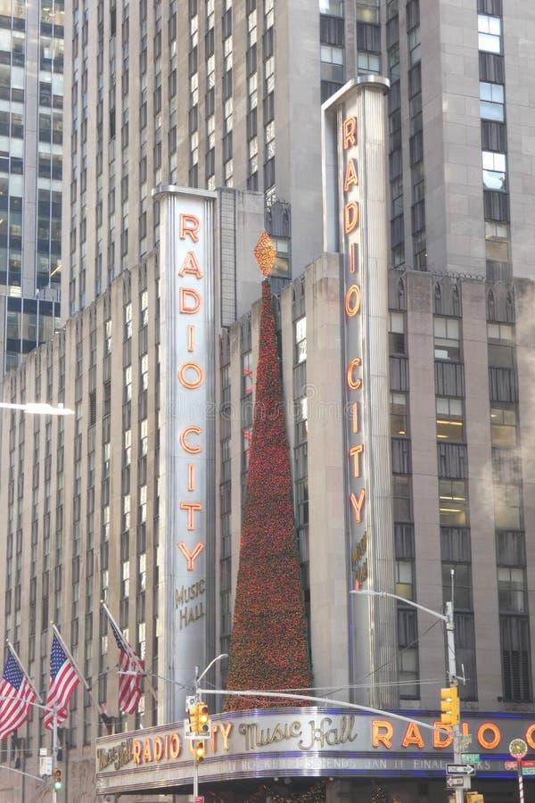 Christmastime的纽约 免版税图库摄影