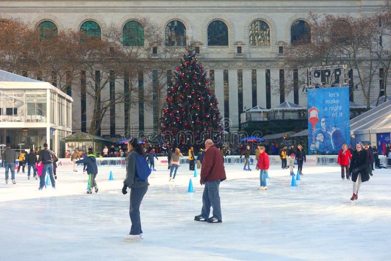 Christmastime的纽约 免版税库存图片