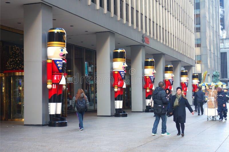 Christmastime的纽约 库存照片