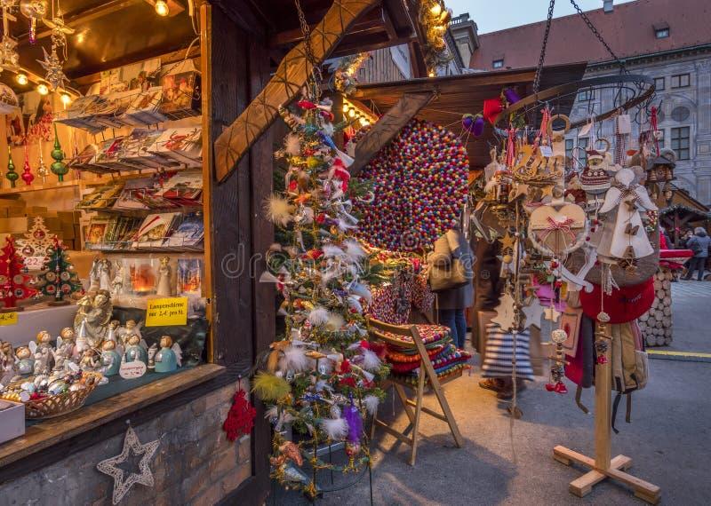 Christmastime στο Μόναχο, Βαυαρία στοκ φωτογραφία με δικαίωμα ελεύθερης χρήσης