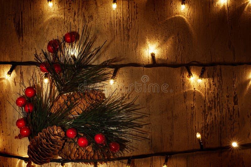 Christmastime prydnad arkivfoton