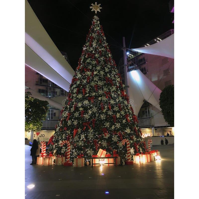 ChristmasTree2018 imagem de stock royalty free
