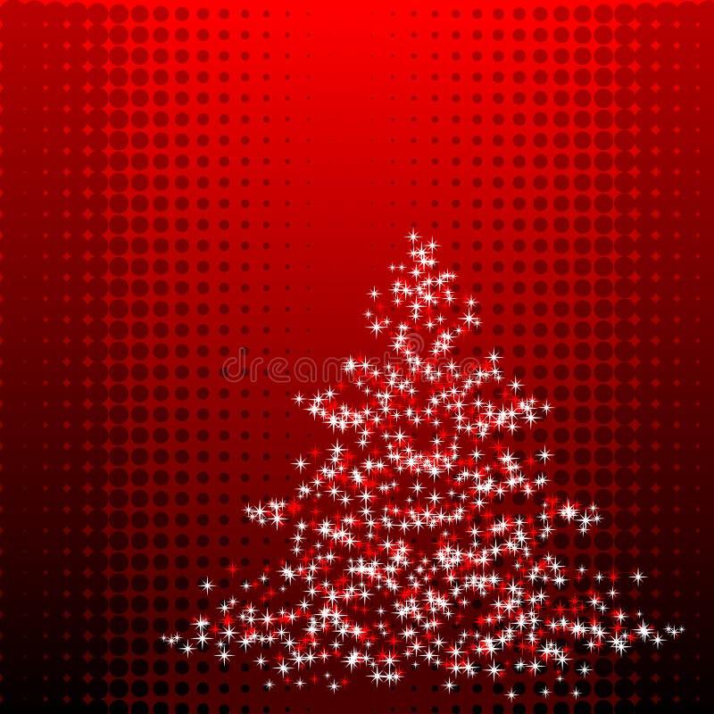 Christmastree stock abbildung