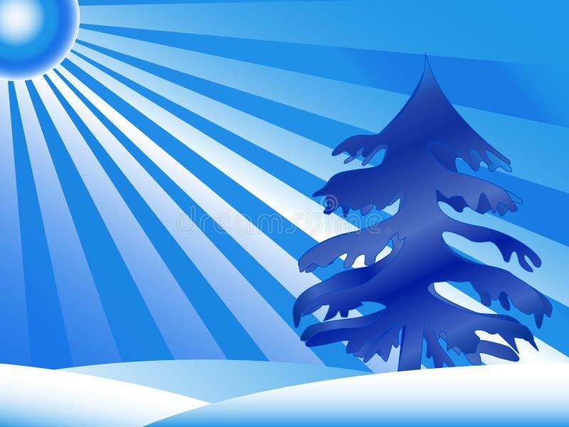 ChristmasTree ilustração royalty free