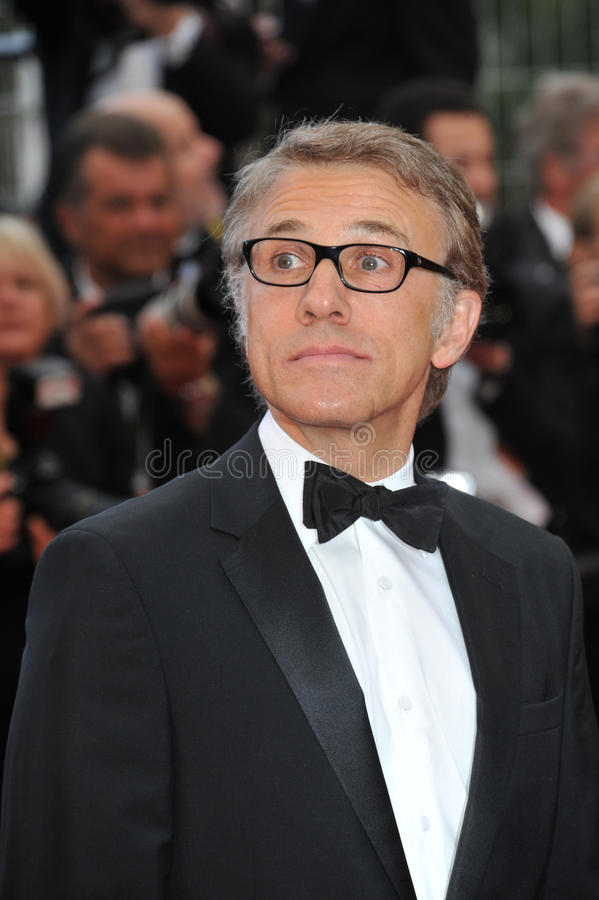 Christoph Waltz photographie stock