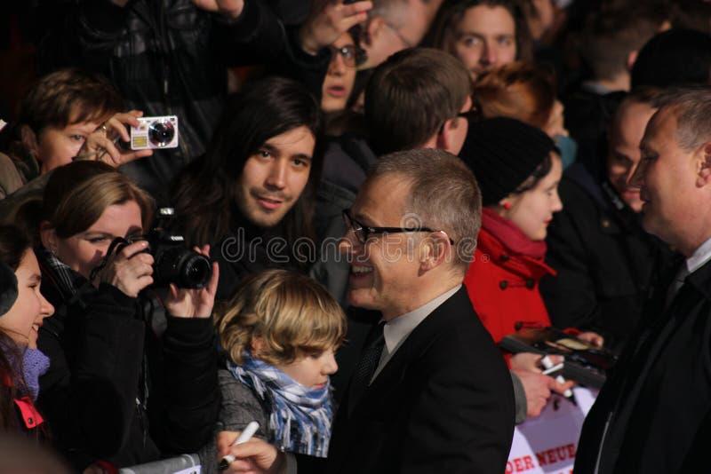 Christoph Waltz - Django Unchained - premier fotos de stock royalty free