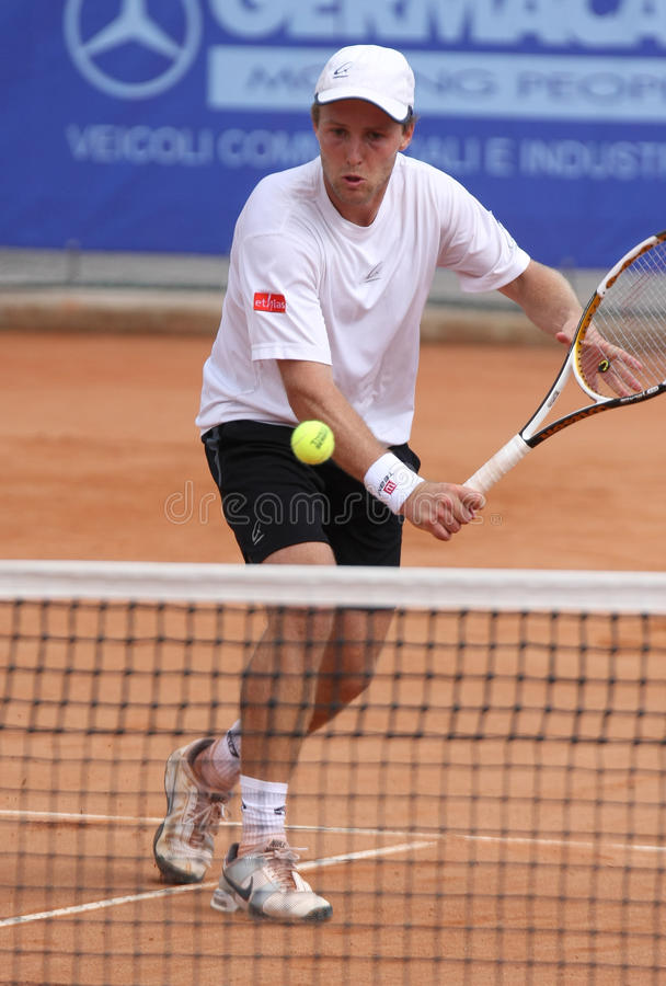 CHRISTOPHE ROCHUS, ATP TENNIS PLAYER stock images