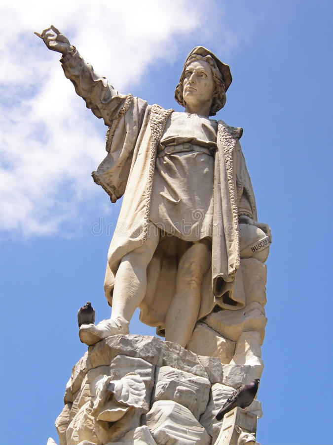 christopher columbus royaltyfri bild