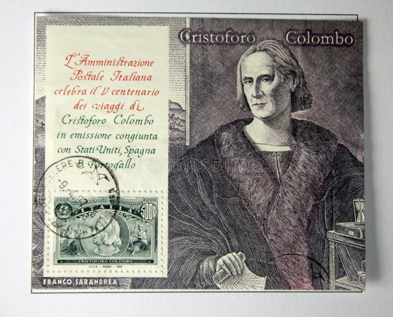 Christopher Columbus immagine stock libera da diritti