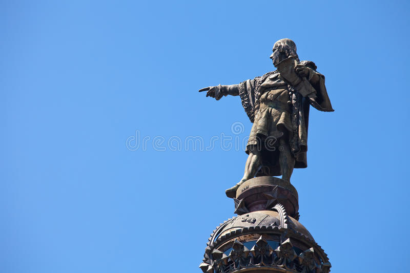 Download Christopher Columbus, Barcelona Stock Photo - Image: 19835104
