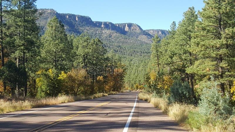 Christopher Creek Loop Payson Arizona imagen de archivo libre de regalías