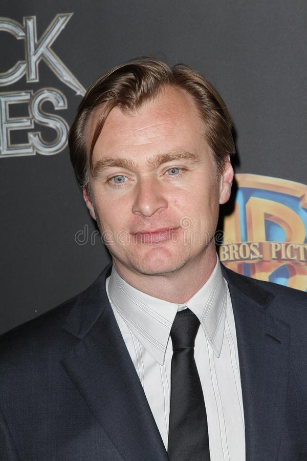 Christopher Nolan At The CinemaCon 2012 WB Studio Presentation, Caesars Palace Hotel, Las Vegas, NV 04-24-12 Editorial Stock Photo