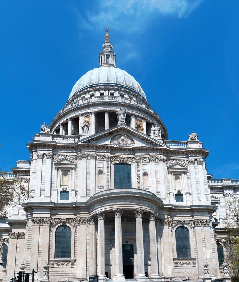 Christopher Wrens St Pauls Cathedral in London lizenzfreies stockbild