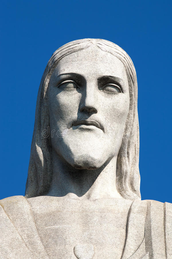 Christredeemer-Statue corcovado Rio de Janeiro lizenzfreie stockbilder
