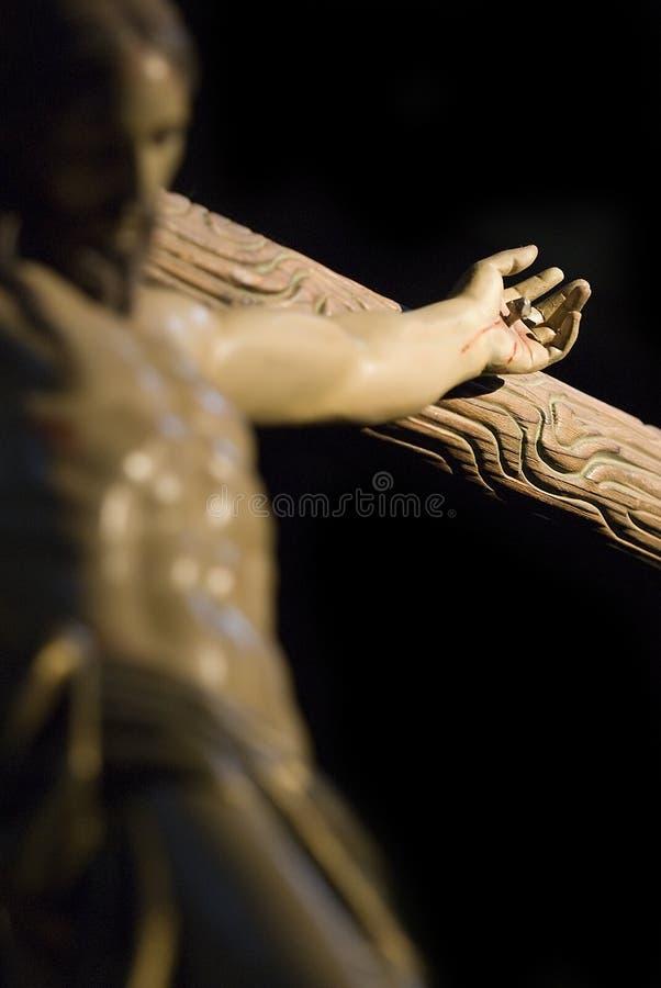 Christs Hand. lizenzfreie stockfotografie