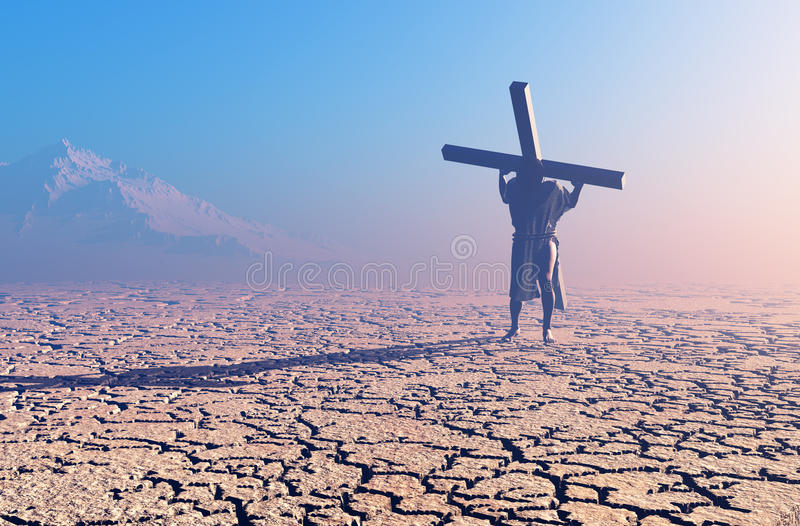 Christus stock illustratie