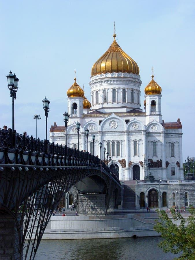 Christus de (verticale) Kathedraal van de Verlosser stock afbeelding