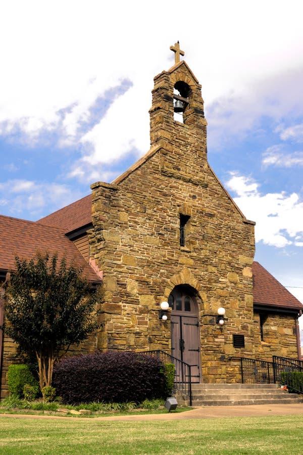 Christus der König Catholic Church in Fort Smith, Arkansas lizenzfreie stockfotos