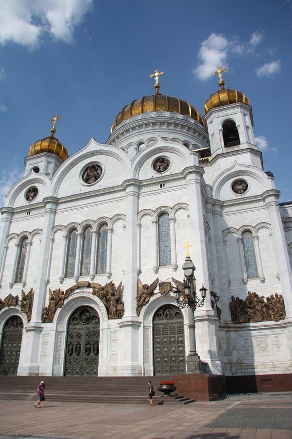 Christus die Retter-Kathedrale in Moskau stockfotografie