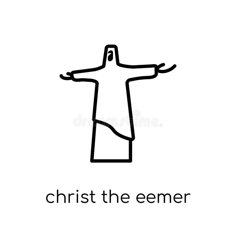 Christus het Verlosserpictogram  vector illustratie