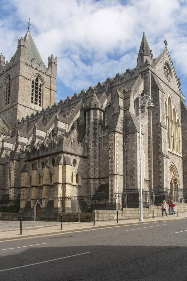 Christus-Kathedrale in Dublin stockfotos