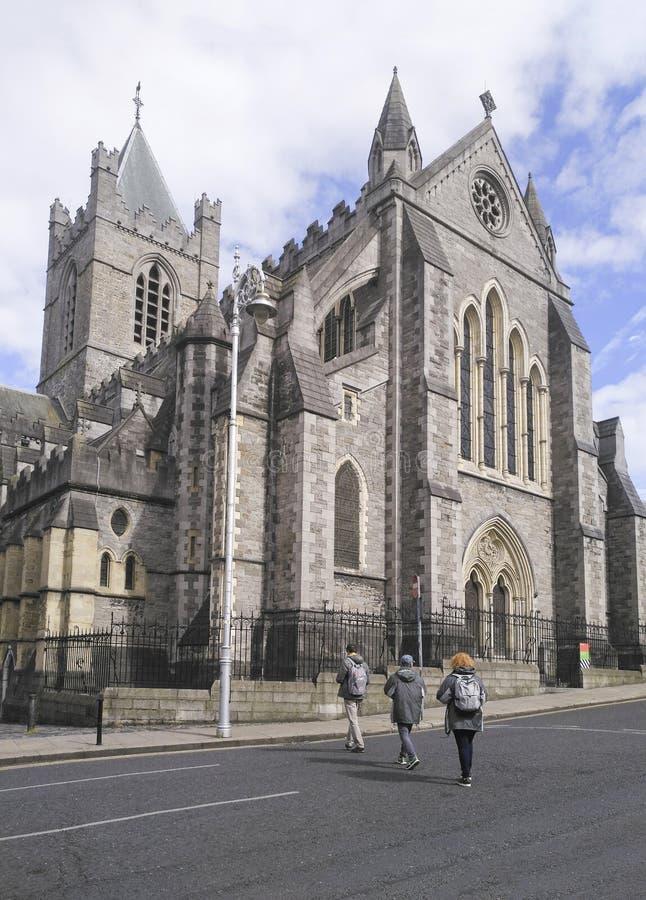 Christus-Kathedrale in Dublin, die Republik Irland lizenzfreie stockfotografie