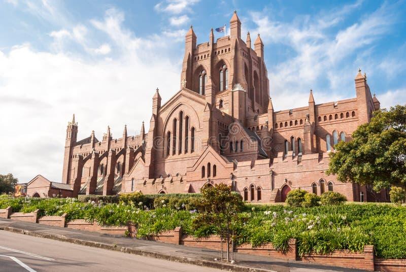 Christus-Kirchen-Kathedrale, Newcastle stockfotografie