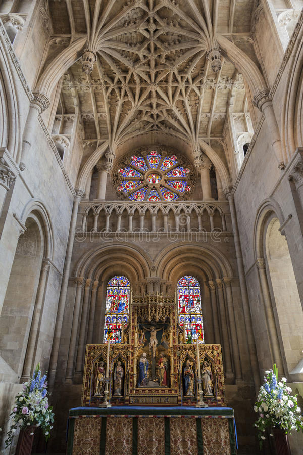 Christus-Kirchen-Universität von Oxford England lizenzfreies stockfoto