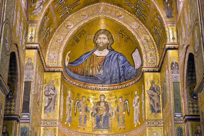 Christus Pantocrator royalty-vrije stock foto