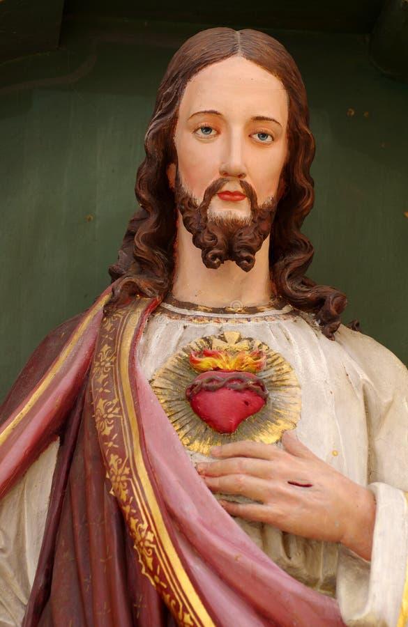 Christus-Porträt stockfotografie
