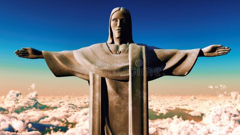 Download Christus Reedemer stock illustratie. Illustratie bestaande uit redeemer - 29508616