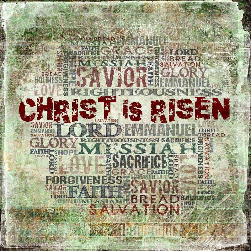 Christus wird gestiegen lizenzfreie stockbilder