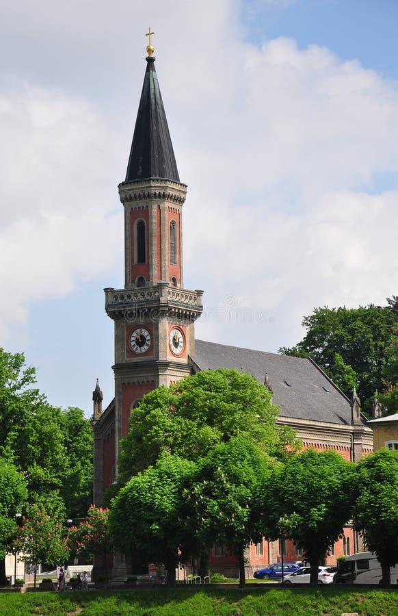 Download Christuskirche i Salzburg arkivfoto. Bild av kyrka, town - 37346230