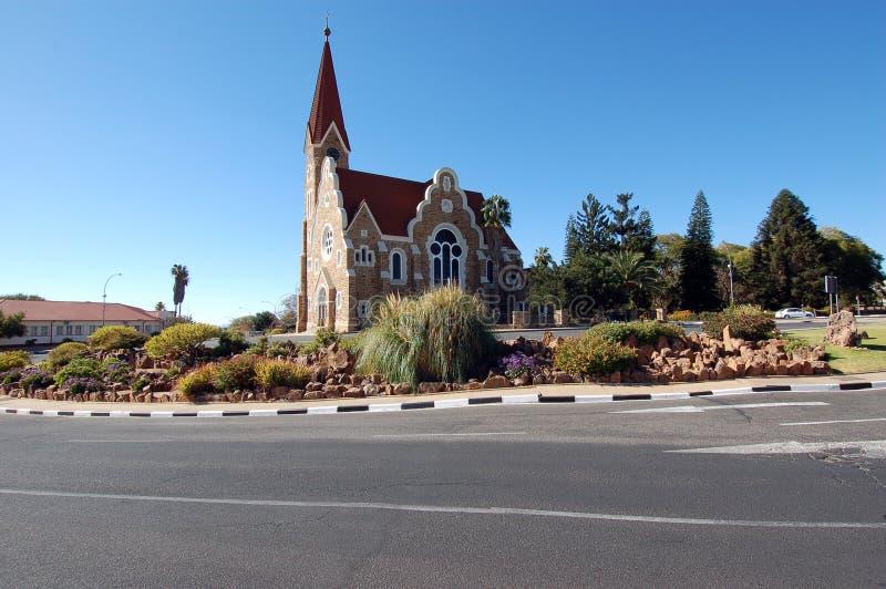 christuskirche Windhoek στοκ φωτογραφίες