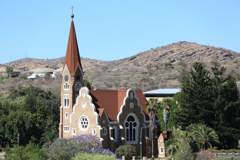 Christuskirche a Windhoek immagini stock libere da diritti