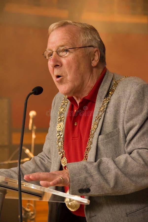Christy伯克 都伯林的市长阁下 爱尔兰 免版税库存照片