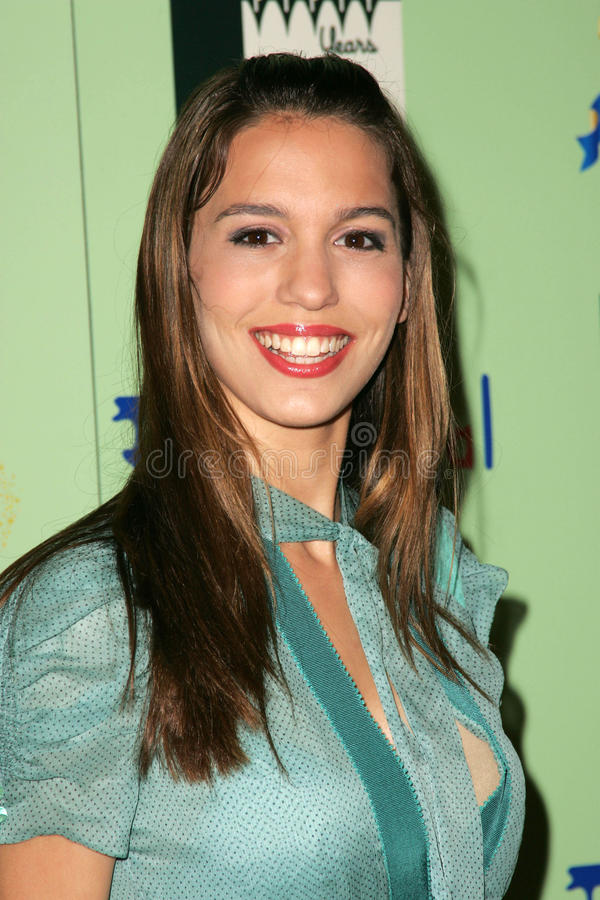 Christy Carlson Romano. At the unveiling of the limited edition Disneyland 50th Collection, Fred Segal, Santa Monica, CA 07-13-05 royalty free stock photos
