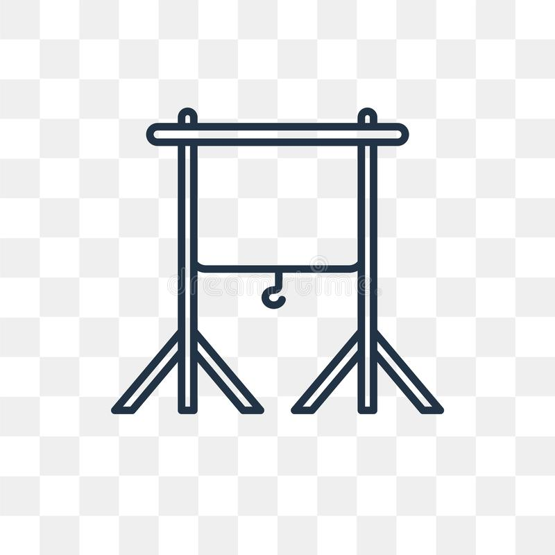 Chroma wektorowa ikona odizolowywająca na przejrzystym tle, liniowy Ch ilustracja wektor