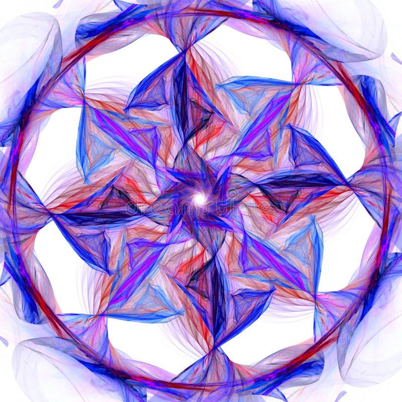 chromatyczny fan ilustracja wektor