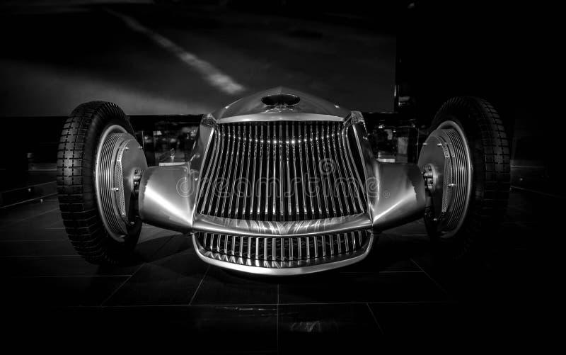 Chrome汽车原型银04 库存图片