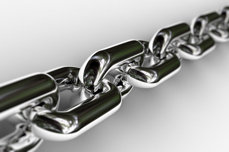 Download Chrome Chain stock image. Image of iron, reliable, durability - 5547369