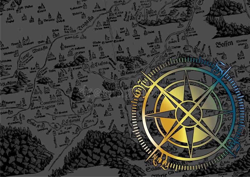 Chrome compass